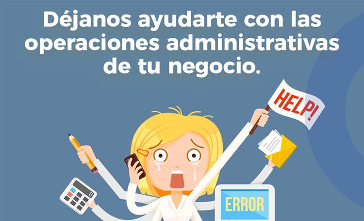 Servicio de administración vs auxiliar administrativo